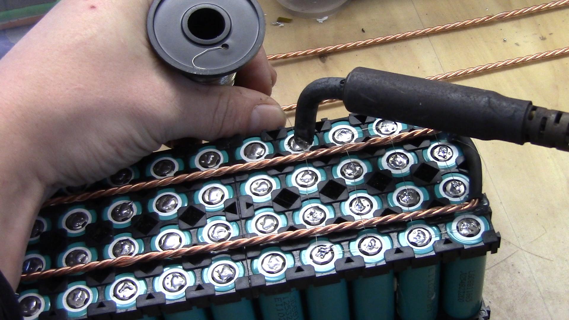 18650 Pack Building Howto Diy Tech Amp Repairs