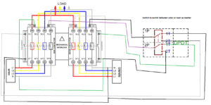 automatic transfer switch switch between solar generator and main rv automatic transfer switch diagram automatic transfer switch with selector switch